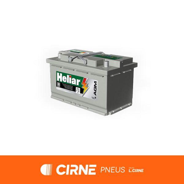 Imagem ilustrativa da Bateria Heliar AG80KD
