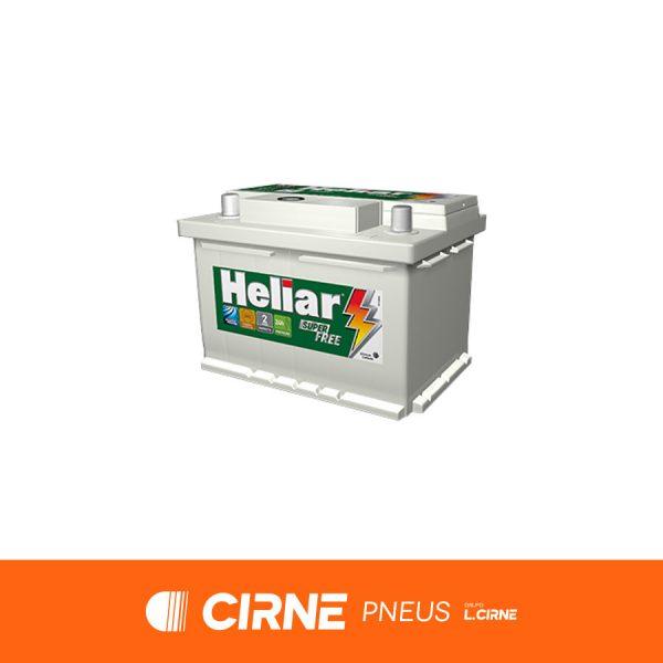 Imagem ilustrativa da Bateria Heliar HF60HD